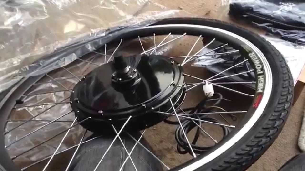 electric bike conversion kit 1000w 48v youtube. Black Bedroom Furniture Sets. Home Design Ideas
