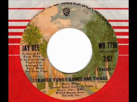 Jay Dee Strange Funky Games And Things 70s Soul Youtube