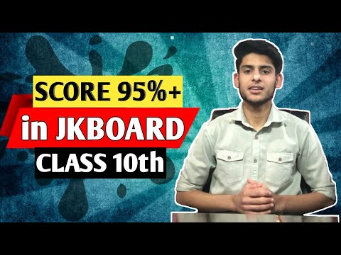 How to Top in JKBOARD Class-10th Exams. Highest Scoring Tips for Board Exams.