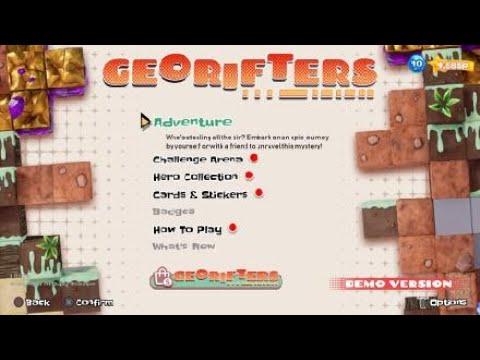 Georifters gameplay  