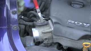 VW Jetta Golf 1.8T Engine Thermostat Removal