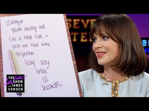 Zooey Deschanel Got  Mail from Snooki