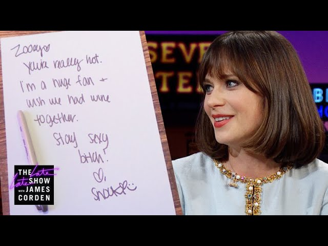 Zooey Deschanel Got Fan Mail from Snooki