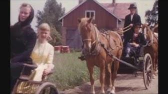 Kruunuhäät Isonkyrön Ylipäässä 1960