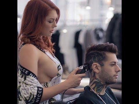世界上最美丽的理发师!美丽精致的发型 2017