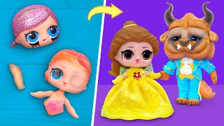 Never Too Old for Dolls! 10 Beauty and the Beast LOL Surprise DIYs