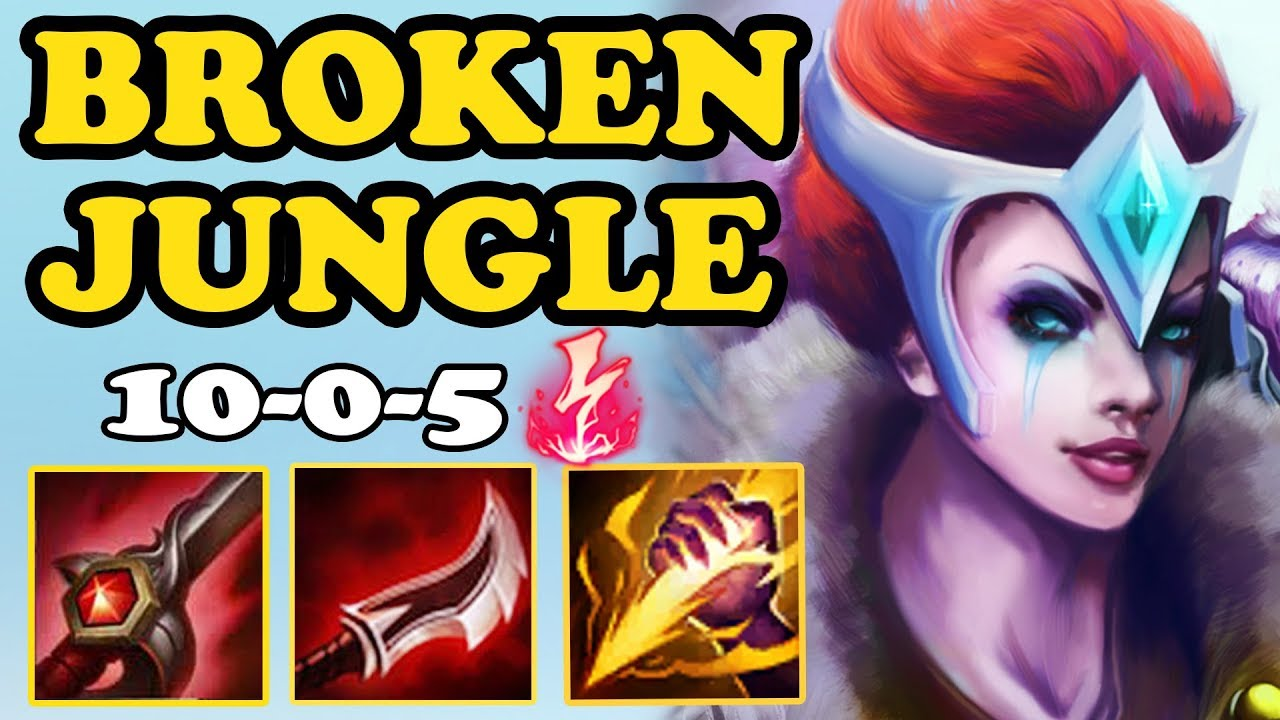 QUINN JUNGLE IS LEGENDARY WITH ELECTROCUTE!! MOST BROKEN JUNGLE YOU MUST  TRY | CRAZY BUILD | LOLLAP