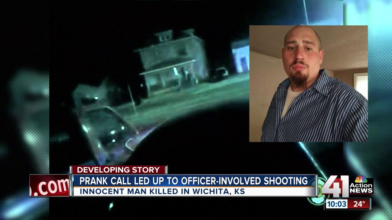 Kansas Police Kill Unarmed Swatting Victim From Very Far Away
