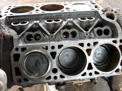Spinning over a V6 GM engine