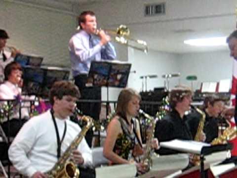Manatee High School Jazz Band- Rock the house.