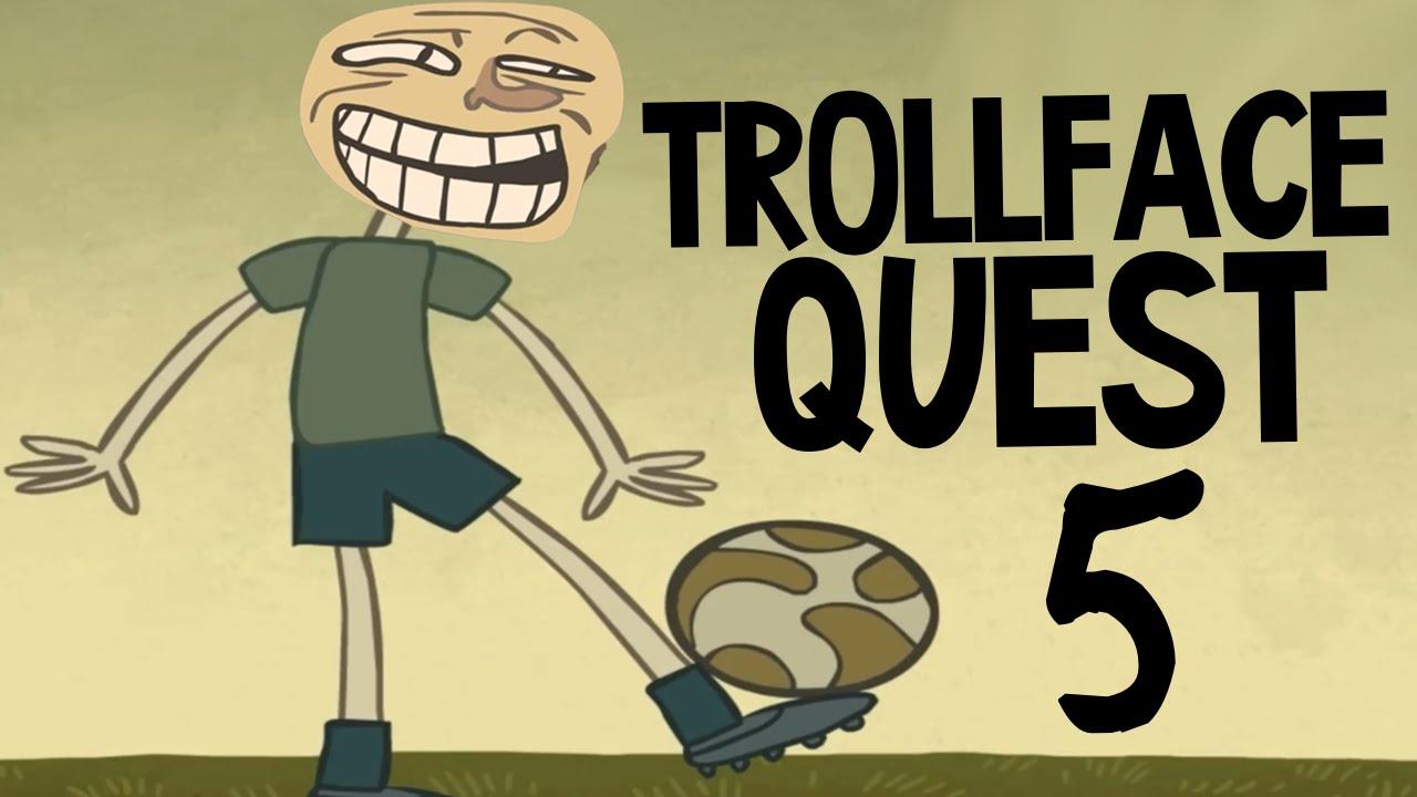 Trollface Quest 5 - УГАРНЫЙ ФУТБОЛ - YouTube