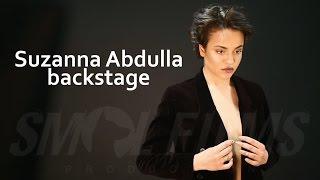 Suzanna Abdulla Backstage