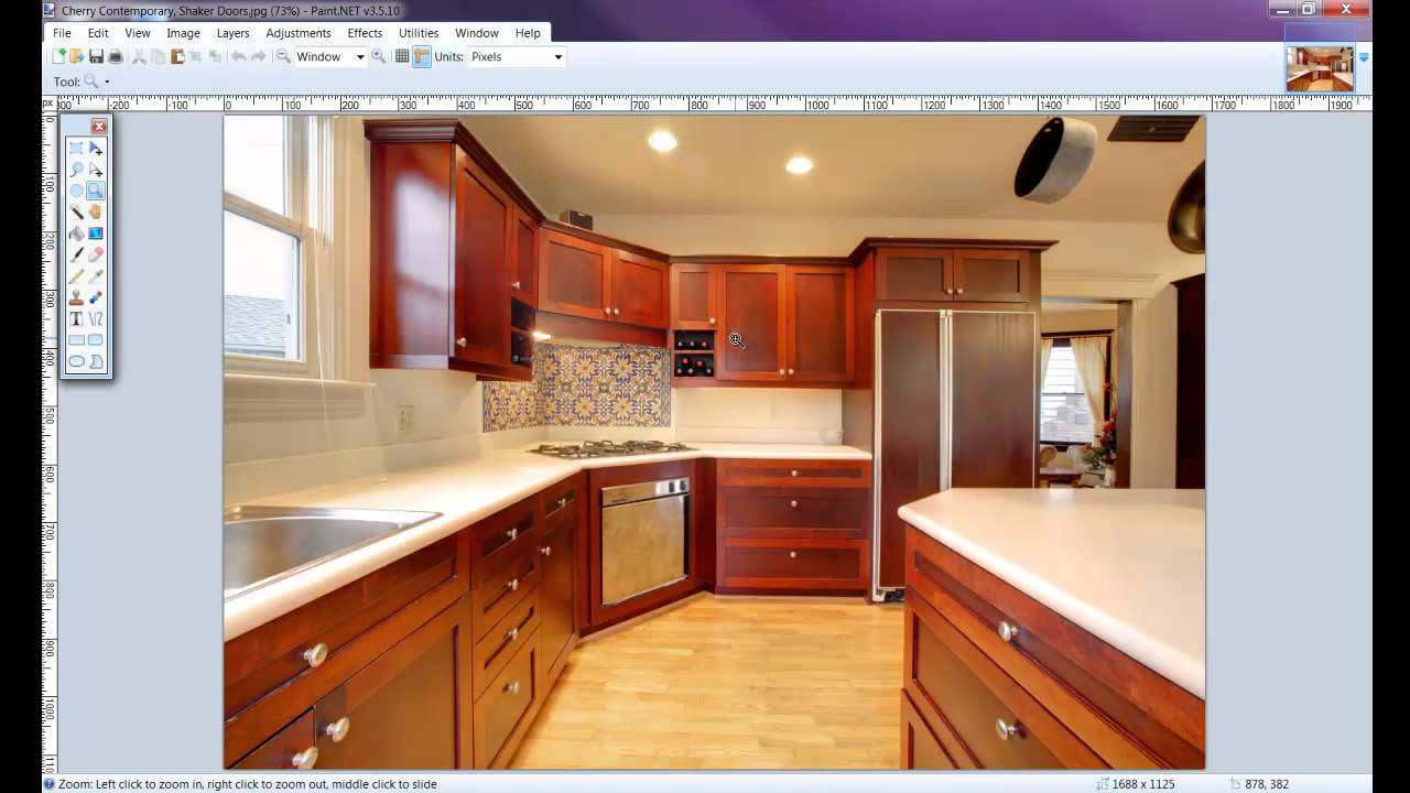 How To Draw A Kitchen With Free Software 2 Of 8