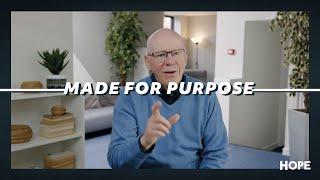 Made For Purpose | John Groves | Hope Online