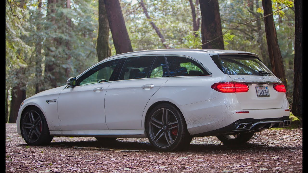 2018 Mercedes Amg E63s Wagon Just The Noise