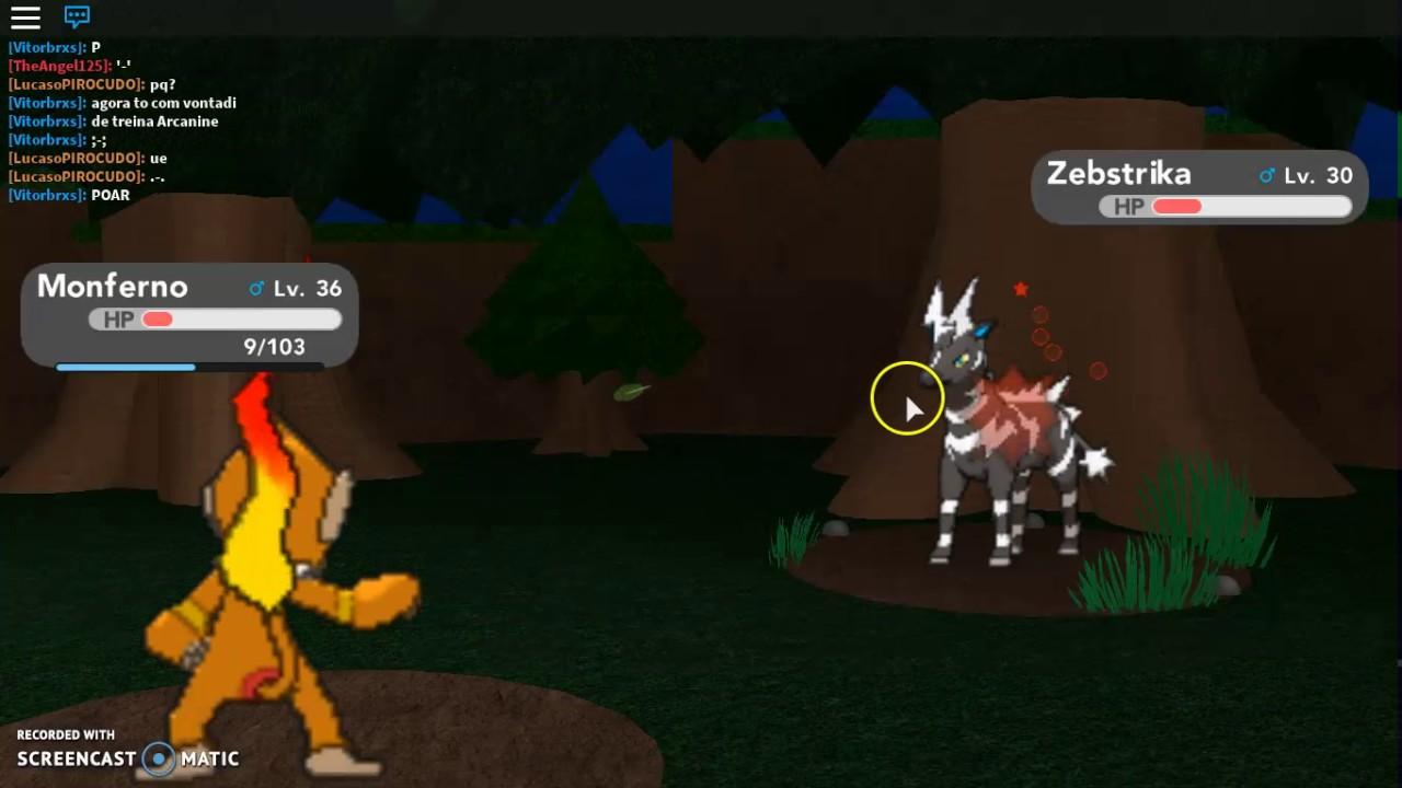 Monferno Evolved Into Infernape Pokemon Brick Bronze 8 Youtube
