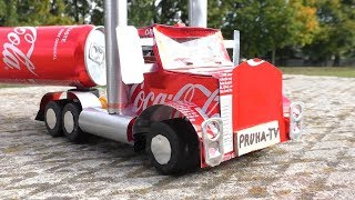 How to Make Truck Coca-Cola at Home for Kids