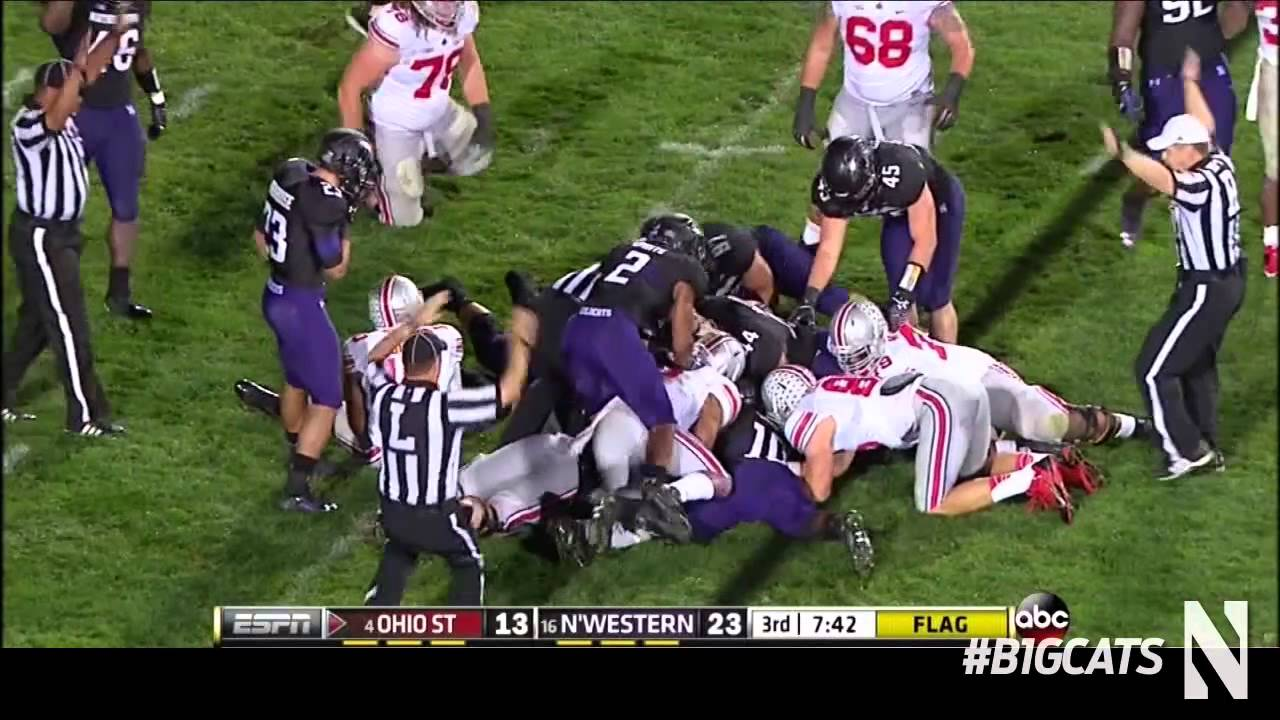 Northwestern Football vs Ohio State Highlights - YouTube