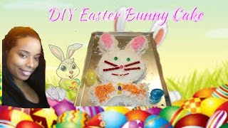 Quick Easy Diy Easter Bunny Cake
