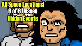 The Room Tribute Game - All 10 Spoon Locations/6 of 6 Unseen Things and  Secret Ending