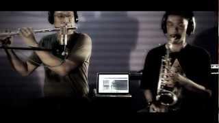 """""""Saat Bahagia"""" (Ungu feat. Andien) - Sax & Flute duo instrumental, Purwanto Nugroho & Noor Faiz"""