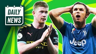 Real Madrid and Juve fail in UCL Onefootball Power Rankings Daily News
