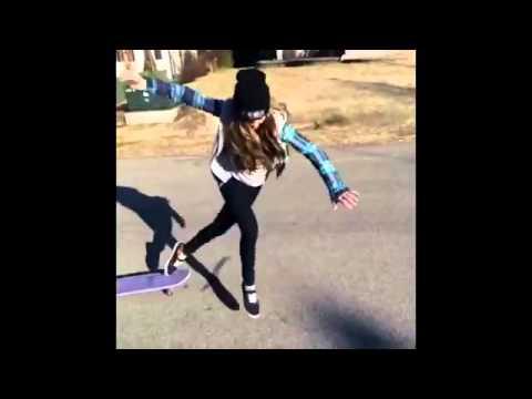 Cool Skateboard Tricks Girl