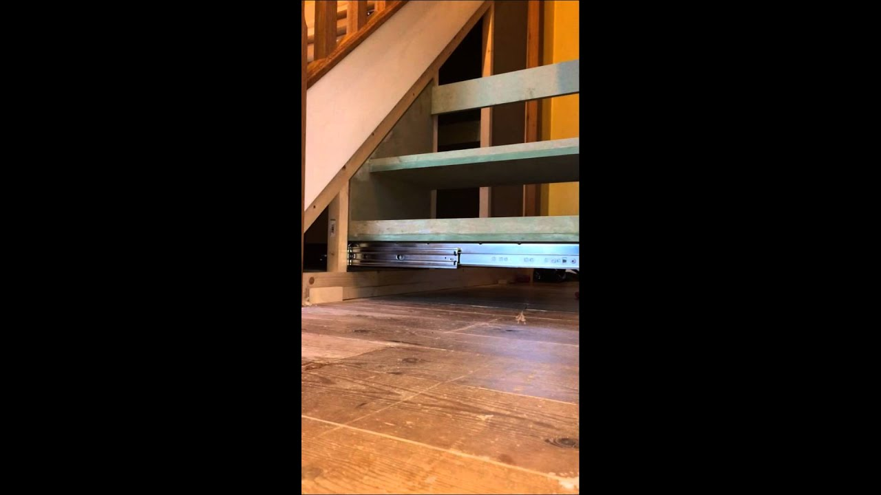 Understairs Pull Out Drawers   Small Shoe Storage