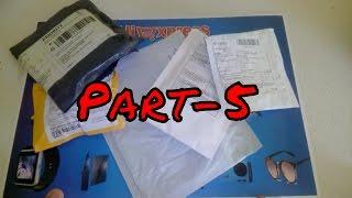 Aliexpress'ten Gelen Toplu Siparişlerim Paket Açılımı Unboxing Part-5