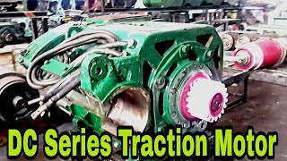 DC series traction motor of Alco locomotives
