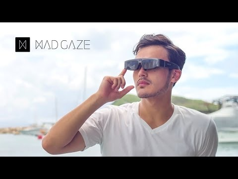 MAD Gaze Vader: The Best AR Smart Glasses For Work And Entertainment