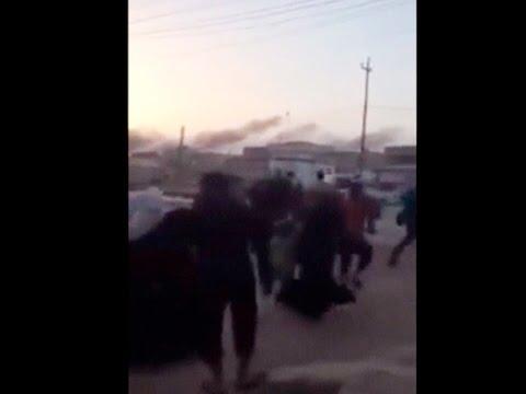 Ramadi, Iraq Civilians flee the city after ISIS seizes control   Social media, Reuters