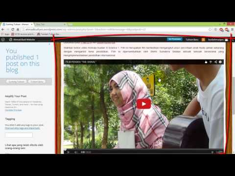 Panduan Membuat Blog Dengan Wordpress Sdn 2 Pasar Batu