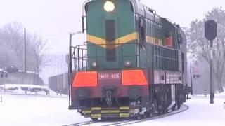 2017-02-15 г. Брест. Железнодорожный инспекционно - досмотровый комплекс. Телекомпания Буг-ТВ.