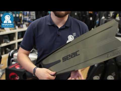 Seac Sub Shout S900 Medium Hard Fins - www.simplyscuba.com