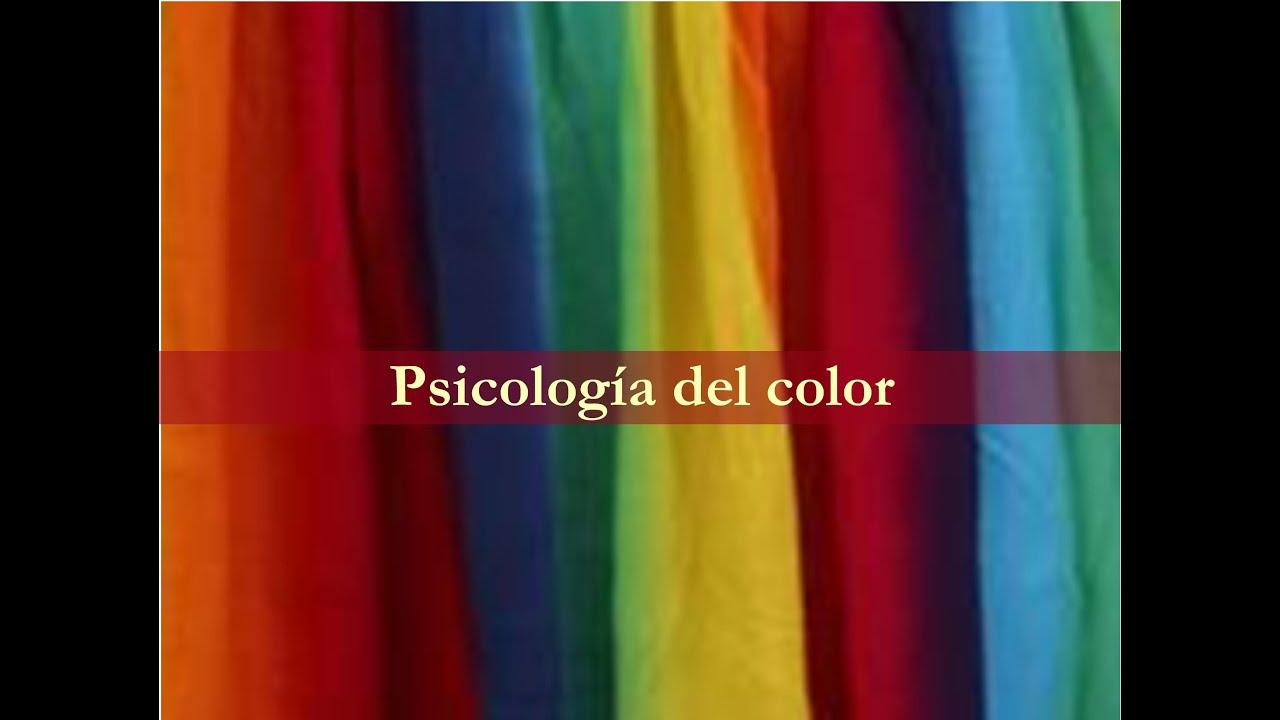 Psicologia Del Color Significado De Los Colores YouTube