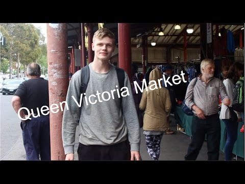 Queen Victoria Market Tour.