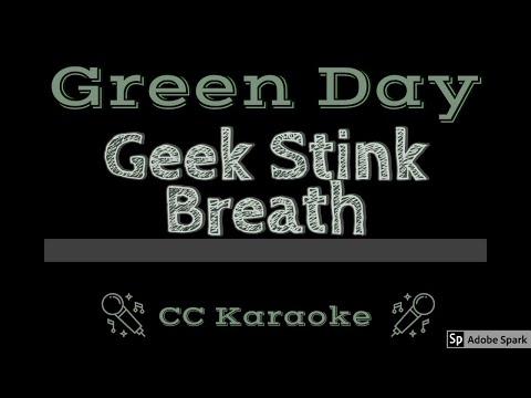 Green Day   Geek Stink Breath CC Karaoke Instrumental