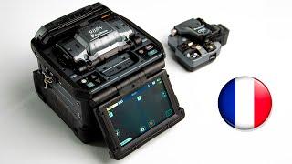 FUJIKURA 90S+ Fusion Splicer video