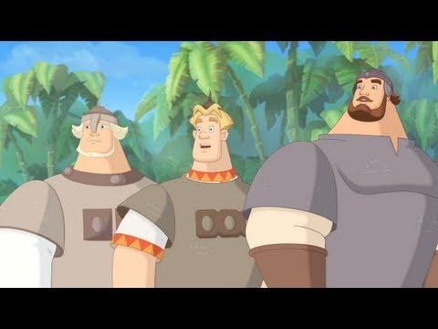 Три богатыря на дальних берегах - Море! (мультфильм)