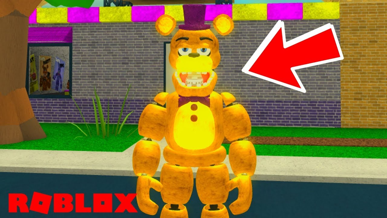 Must Play Awesome New Roblox Fnaf Game Roblox Fredbear And
