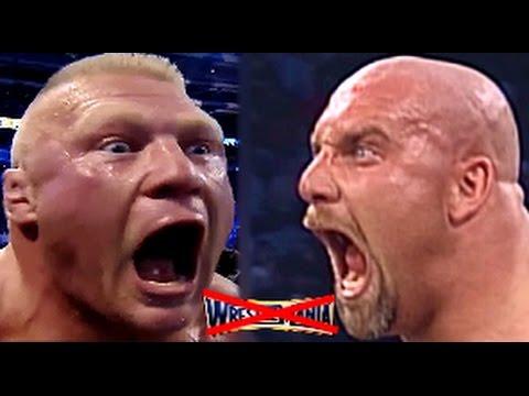10 Reasons Why WWE Cancelled GOLDBERG vs. Brock Lesnar at WrestleMania 33