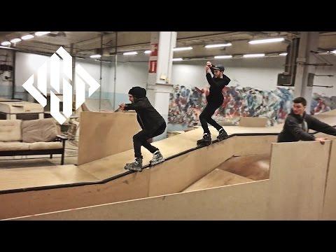 Planet Aeon - Richie Eisler & Dano Gorman at Planet Park, Brussels - USD Skates