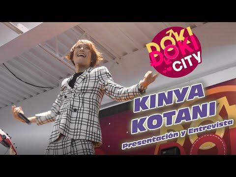 Kinya Kotani: Presentación y Entrevista en Doki Doki City 2018