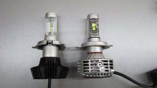 Светодиодные авто лампы G6 H4 (CREE XHP50) и G7 H4 (Philips LUXEON ZES) VS HID 55W ( XENON )(Светодиодные авто лампы G6 H4 (CREE XHP50) и G7 H4 (Philips LUXEON ZES) VS HID 55W ( XENON ) - сравнение света светодиодных ламп Н4 шесто ..., 2016-01-04T22:58:04.000Z)