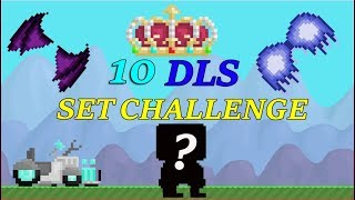 Growtopia - 10 DLS SET CHALLENGE!(BRAND NEW SET)