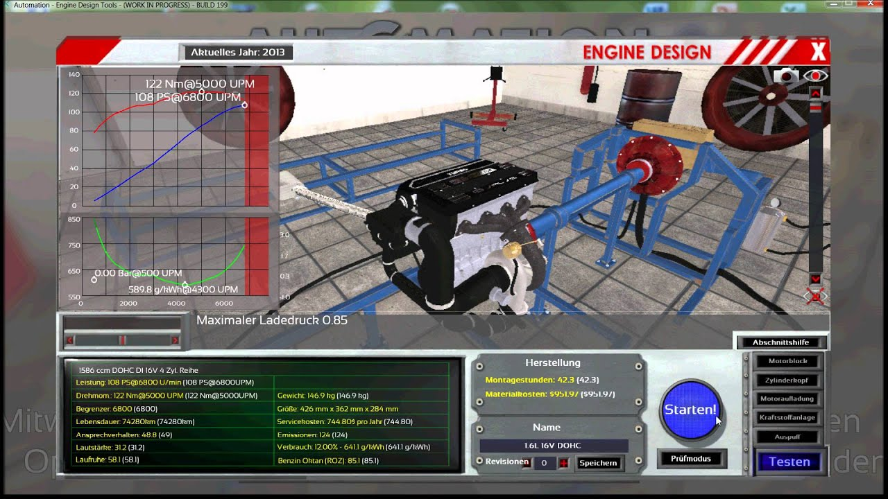 Let 39 S Play Automation Game Tune Up A 1 6 Engine With