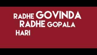 Radhe Govinda - Madi Dasa ft. Chaytanya-Lyrics