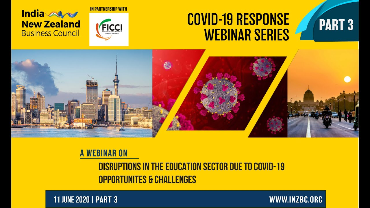 Webinar: Disruptions in the Education Sector due to COVID-19 - Opportunities and challenges