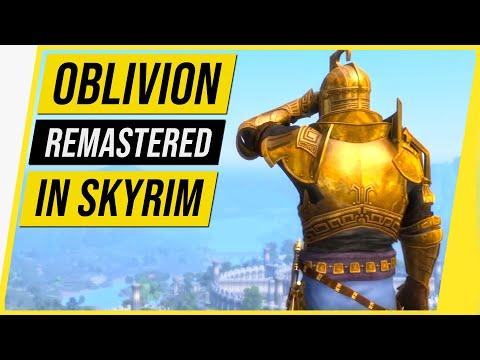 Oblivion Remastered in